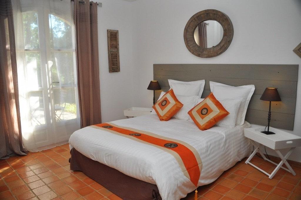 Chambre Orange - Chambres d\'Hôtes de Charme en Provence
