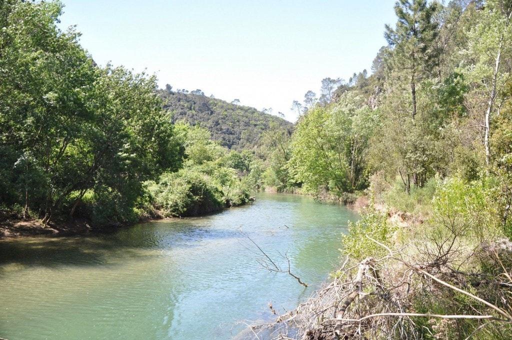 Le Vallon de la Sourne avec sa rivière et sa ia ferrata