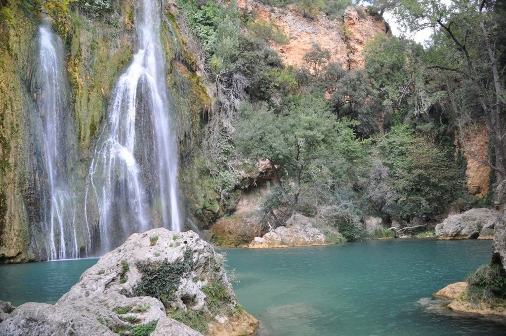La remarquable cascade de 42 metres à Sillans