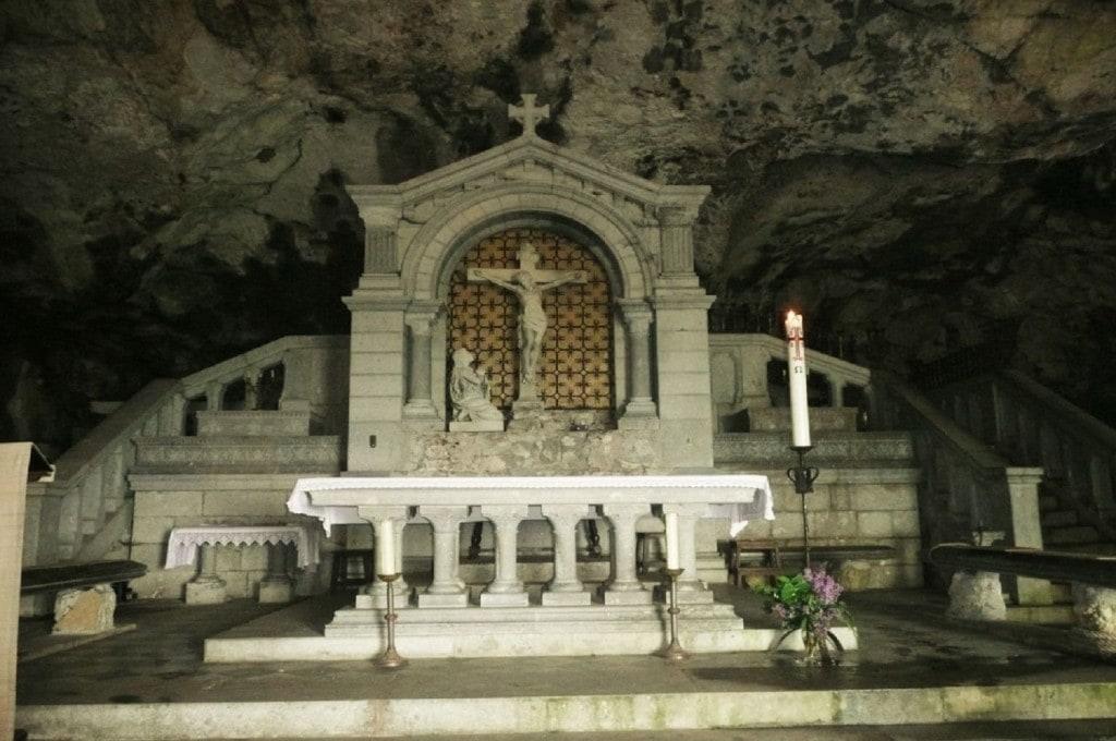La Grote de Marie Madeleine dans le Massif de la Sainte Baume
