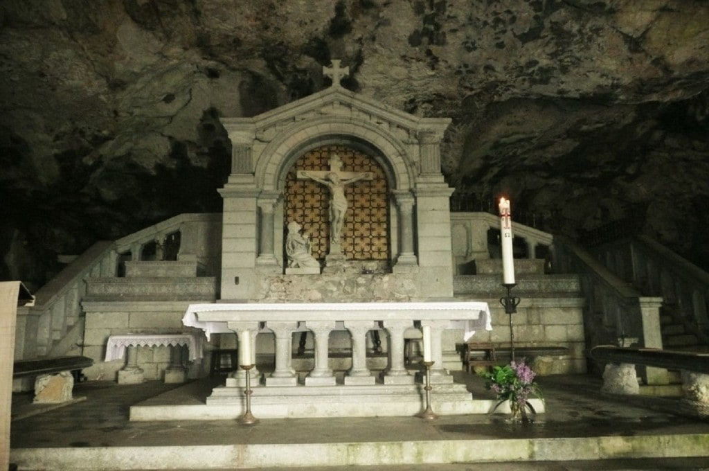 Maria Magdalena Cave on top of Ste Baume Mountain