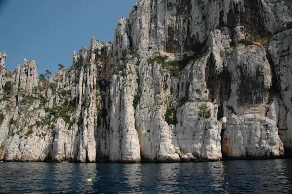 Les merveilleuses Calanques de Cassis, à 40' du Clos Geraldy