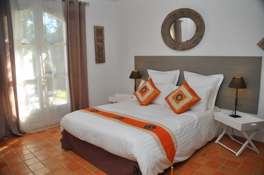 La Chambre Orange du Clos Geraldy