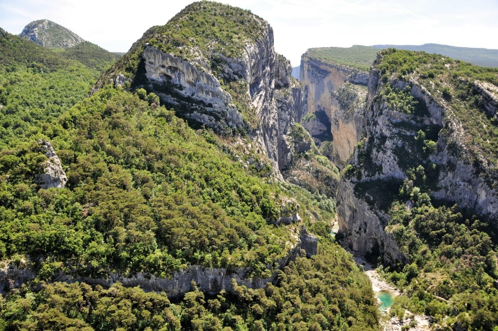 The biggest canyon in Europe
